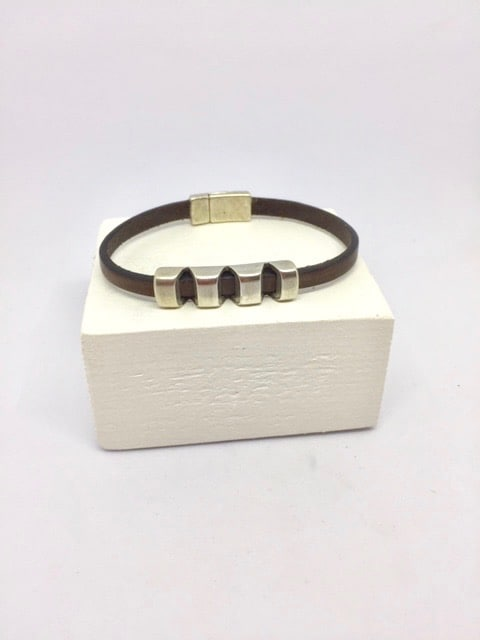 Bracelet Chock - Marron