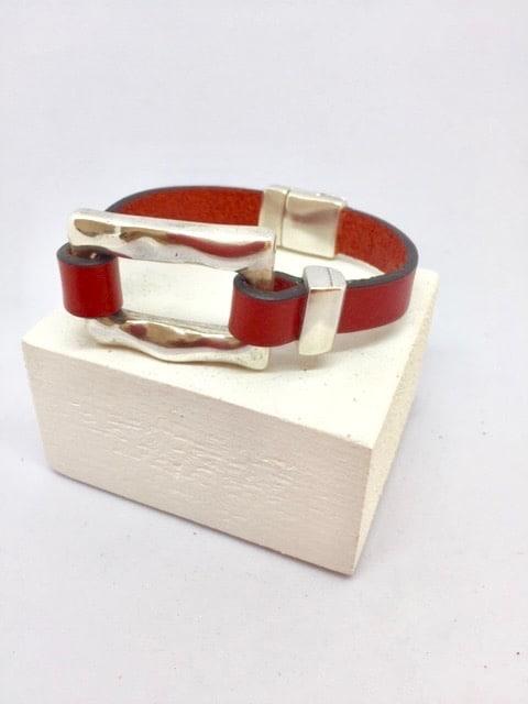 Bracelet Rachel Rouge éclatant