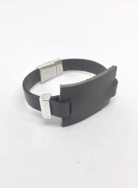 Bracelet Stone Noir