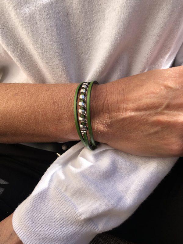 Bracelet Ano vert